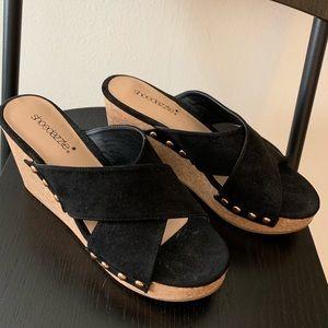 Size 8 Slip in Heels